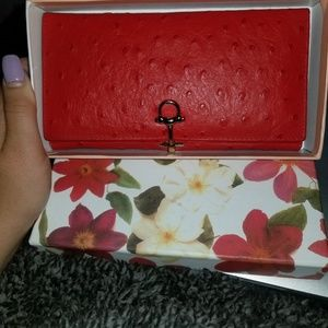 Red Womens Wallet | Vera Pelle